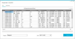 Importer dokumentów magazynowych DSG Importer CDN Optima